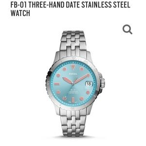 NWT Fossil Stainless Steel Watch